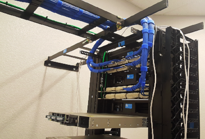 Cabling to Server
